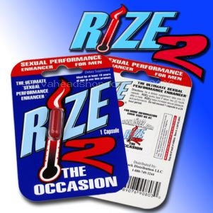 Take Rize 2 pills 45 minutes before desired effect. Rize 2 Sexual Enhancers