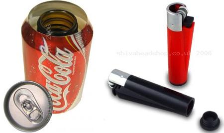 Hidden stash cans – Security sistems
