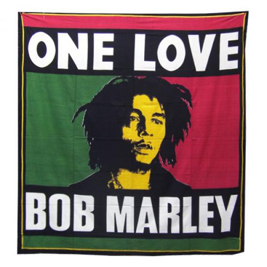 Bob Marley Bedspread