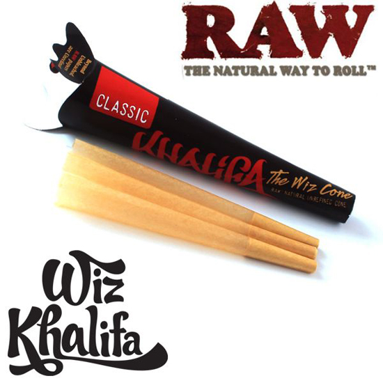 RAW Wiz Khalifa Kingsize Cones