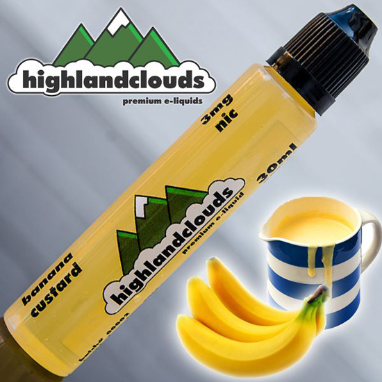 Highland Clouds Banana Custard