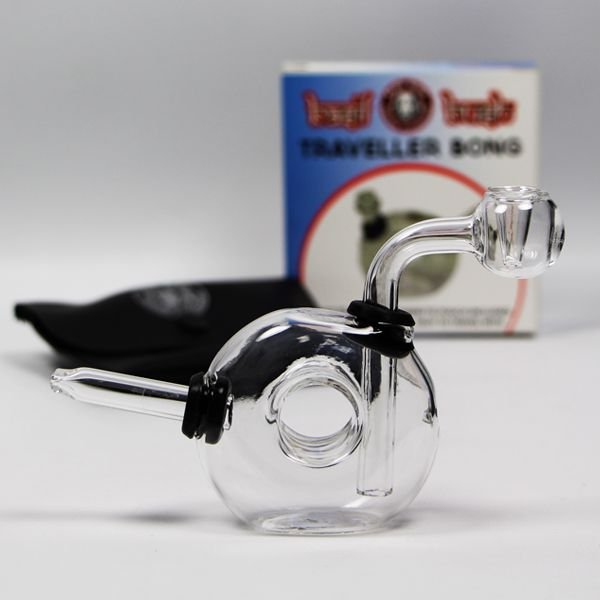 Mini Traveller Glass Bong