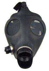 Gas Mask Close Up