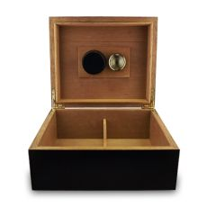 Humidor open front view