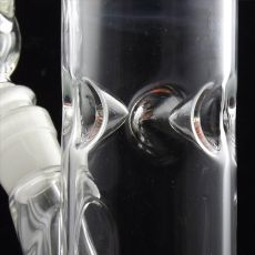 Miniature Marvel Tubular Glass Ice Bong ice dimples