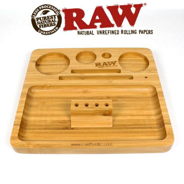 Raw Bamboo Rolling Tray Shiva