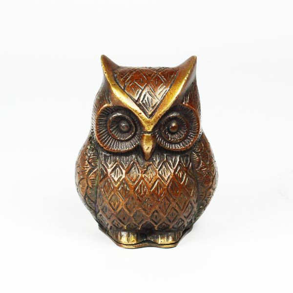 Ornamental Stash Owl Shiva