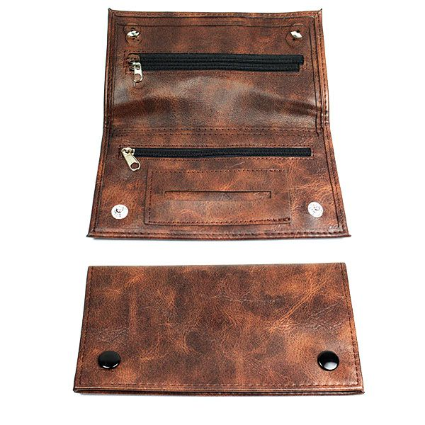 Faux Leather Tobacco Pouch Shiva