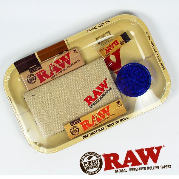 Raw Rolling Tray Gift Set Shiva