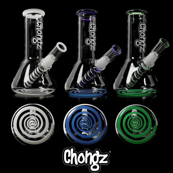 Chongz Mini Goose Glass Bongoil Rig Shiva
