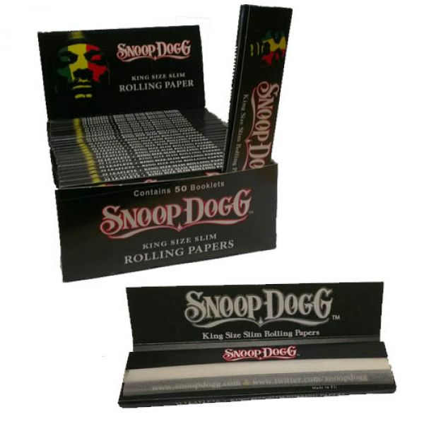 Snoop Dogg King Size Slim Rolling Papers Packet : Shiva