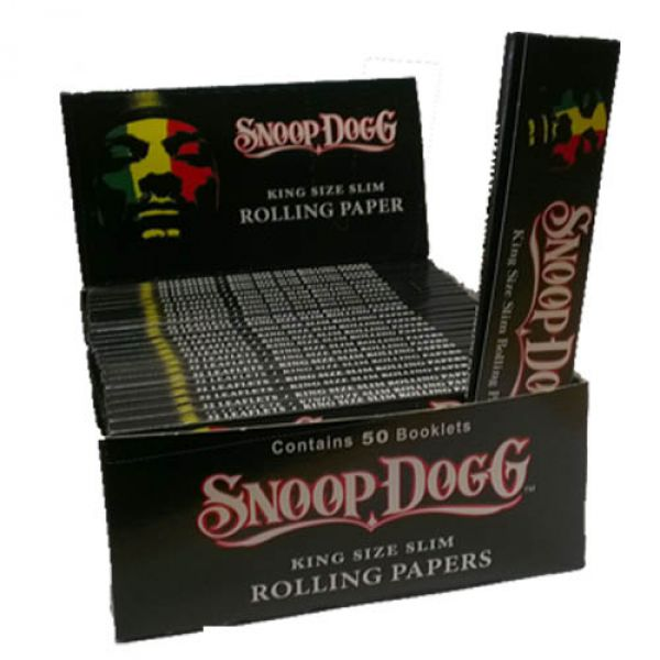 Snoop Dogg King Size Slim Rolling Papers Box : Shiva