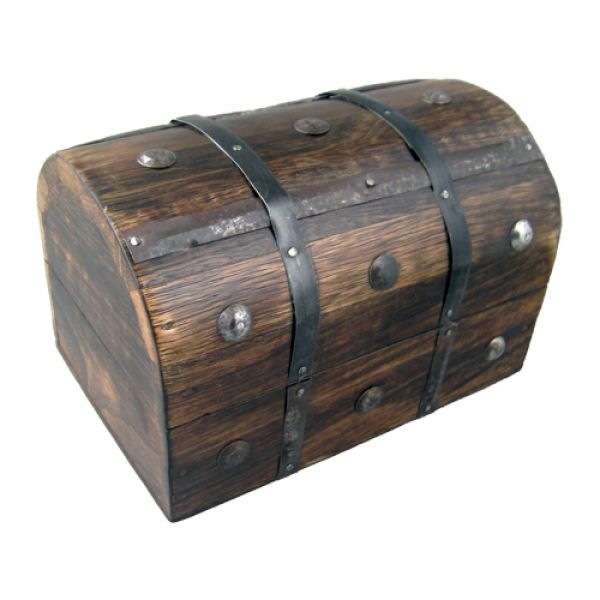 Treasure Chest Wooden ...