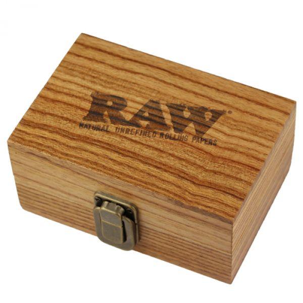 Raw Wooden Rolling Box Shiva