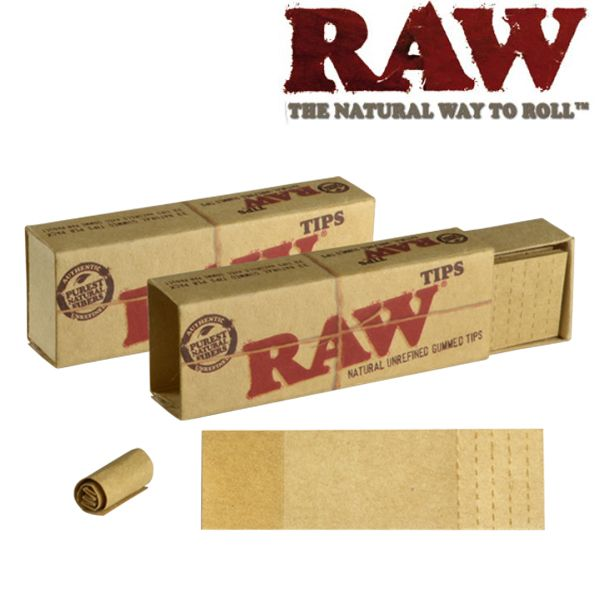 Raw Gummed Perforated Tips Shiva