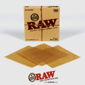 Raw Unrefined Parchment Squares