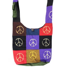 Nepalese Shoulder Bags - Peace