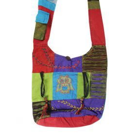 Nepalese Shoulder Bags - Owl