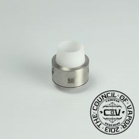 Council Of Vapour Royal Hunter Mini RDA - Stainless Steel