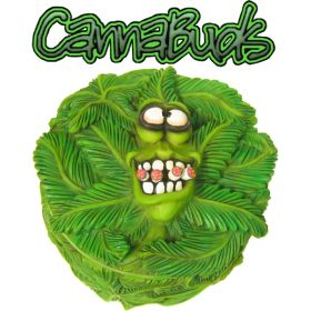 Cannabuds Stash Box Ashtray - Greedy