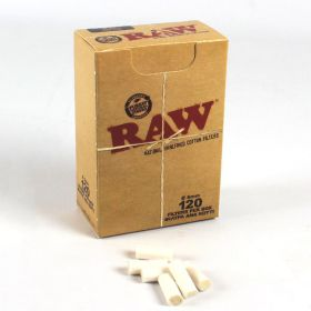Raw Slim Unbleached Filter Tips