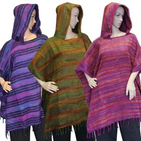 Super Soft Hooded Ponchos