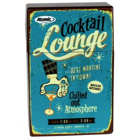 Retro Cigarette Packet Cover - Cocktail Lounge
