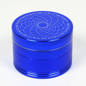Mix 'N' Blitz 55mm Isotope Sifter Grinder - Blue