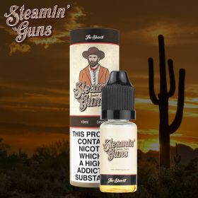 Steamin Gun's The Sheriff 10ml (Ripe Strawberry Cheesecake) - 0mg