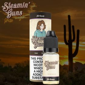 Steamin Gun's The Deputy 10ml (Juicy dragonfruit and melon cocktail with a hint of sweet cream) - 0mg