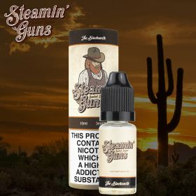 Steamin Gun's The Blacksmith 10ml (Pecan pie drenched in vanilla cream) - 0mg