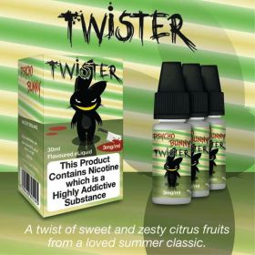 Psycho Bunny Twister 3x10ml (A twist of sweet and zesty citrus fruits) - 3mg