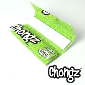 Chongz Organic Hemp Papers With Tips