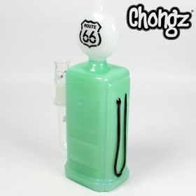 Chongz 21cm 'Gas Pump' Glass Oil Rig