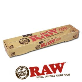 Raw Classic 1 1/4 Size Cones - 32 Pack