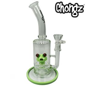 Chongz 27.5cm 'Frog Princess' Peculator Glass Bong