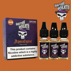Doctor Death Apocalypse (Cherry Cola) 3x10ml Multipack (3mg)