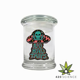 420 Classic Pop Top Jar No Bad Trip - Medium