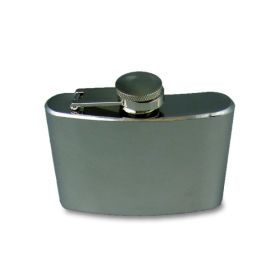 Stainless Steel Hip Flask - 4oz