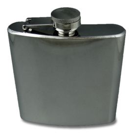 Stainless Steel Hip Flask - 6oz