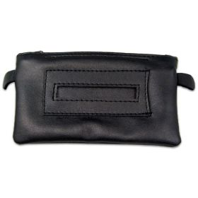 Leather Tobacco Pouch - Zip-Up
