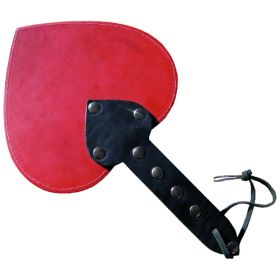 Leather Heart Paddle
