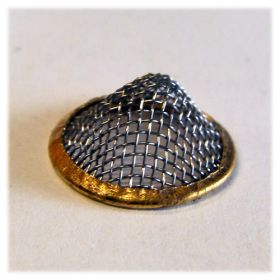 15mm Brass Rim Conical Screens