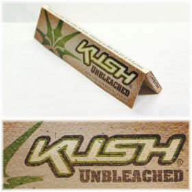 Kush Unbleached King Size Slim Papers