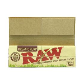 RAW Organic Connoisseur 1 1/4 Size Papers