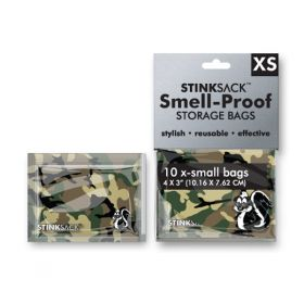 Stink Sack X-Small 10 pack - Camouflage