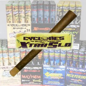 Cyclone Blunts: Xtra Slo - Mayhem (Box of 24)