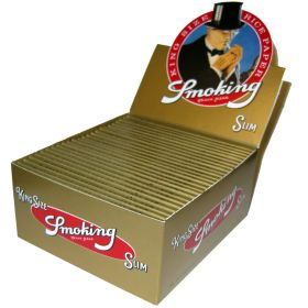 Smoking Gold Slim - Box of 50