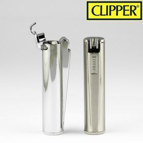 Petrol Deluxe Metal Clipper Lighter