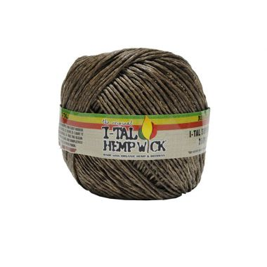 I-Tal Hemp Wick - Supreme (250ft)